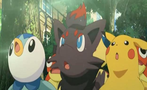 Resultado de imagen para Pokémon: Zoroark - El maestro de las ilusiones