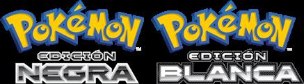 Logos Pokemon Blanco y Negro