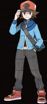 Entrenador Pokemon Blanco y Negro