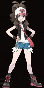 Entrenadora Pokemon Blanco y Negro