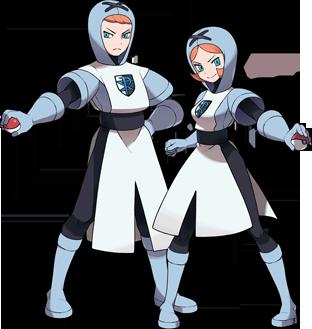 Equipo Plasma Pokemon Blanco y Negro
