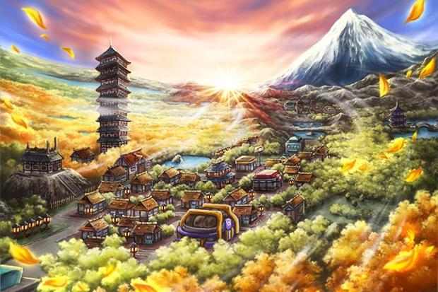 Ciudad Iris Pokémon Oro HeartGold y Plata SoulSilver