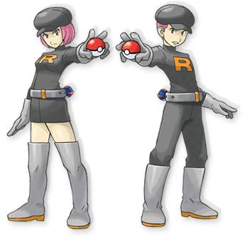 Team Rocket Pokémon HeartGold y SoulSilver