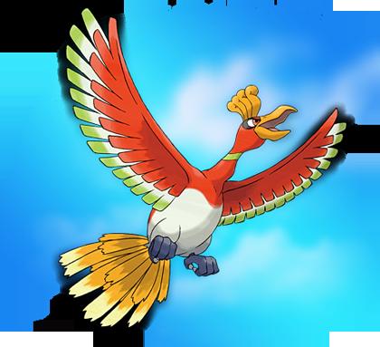 Ho-oh Pokémon Oro HeartGold
