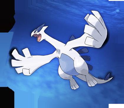 Lugia Pokémon Plata SoulSilver