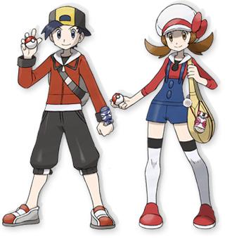 Personajes Pokémon SoulSilver
