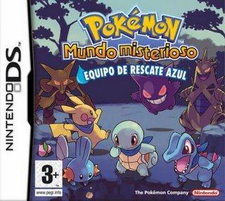 Caja Pokemon Mundo Misterioso Azul