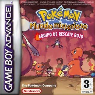 Caja Pokemon Mundo Misterioso Rojo