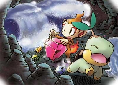 Pokemon a elegir en Mundo Misterioso 2 Exploradores del Cielo y Oscuridad