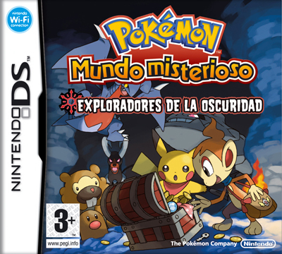 Caja de Pokemon Mundo Misterioso Oscuridad