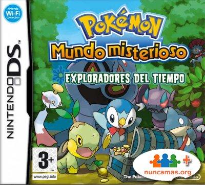 Caja de Pokemon Mundo Misterioso Tiempo