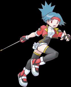 Chica Pokemon Ranger Solana