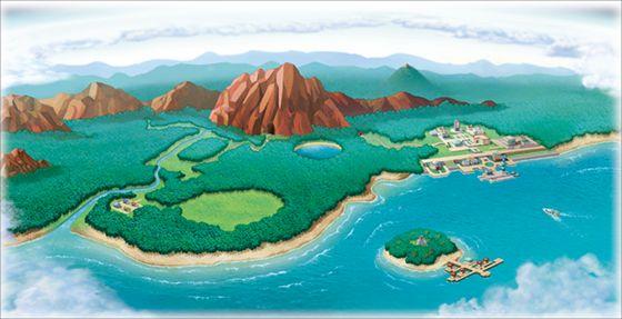 Region Fiore Pokemon Ranger