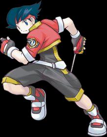 Chico Pokemon Ranger Lunick