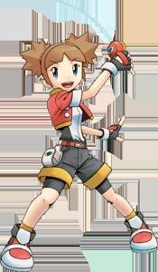 Chica Pokemon Ranger 2