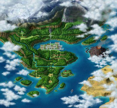 Region Almia Pokemon Ranger 2