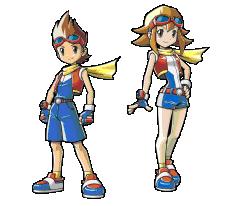 Personajes Pokemon Ranger Trazos de Luz