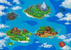 Region Pokemon Ranger Trazos de Luz