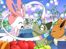 Corto Pokémon Eevee y sus amigos