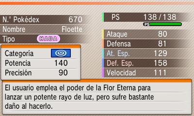 Floette Flor Eterna