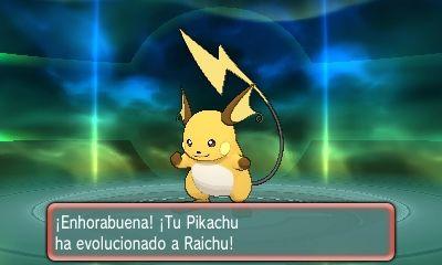Evolución Pokémon