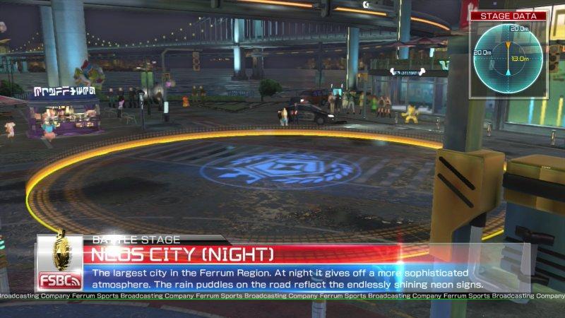 Ciudad Neos Noche