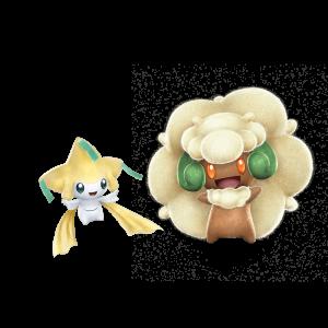 Jirachi y Whimsicott