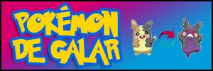 Pokémon de Galar