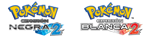 Logo Pokemon Blanco 2 y Negro 2