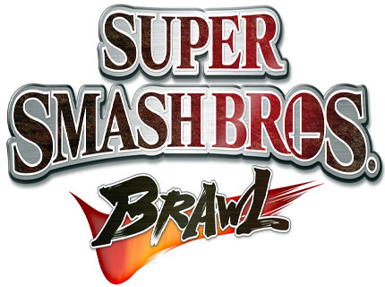 Logo Smash Bros Brawl