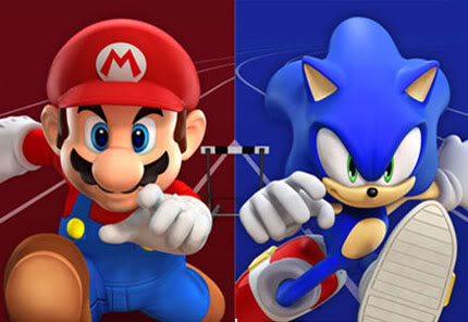Mario y Sonic Super Smash Bros Brawl