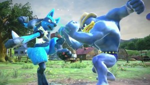 Lucario VS. Machamp