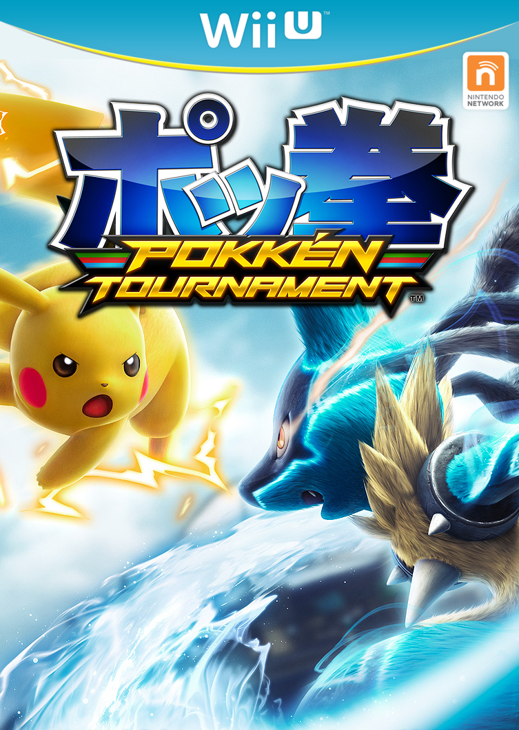 Pokkén Tournament carátula Wii U