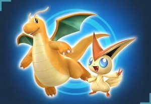 Dragonite y Victini
