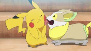 TV Pokémon Pikachu y Yamper