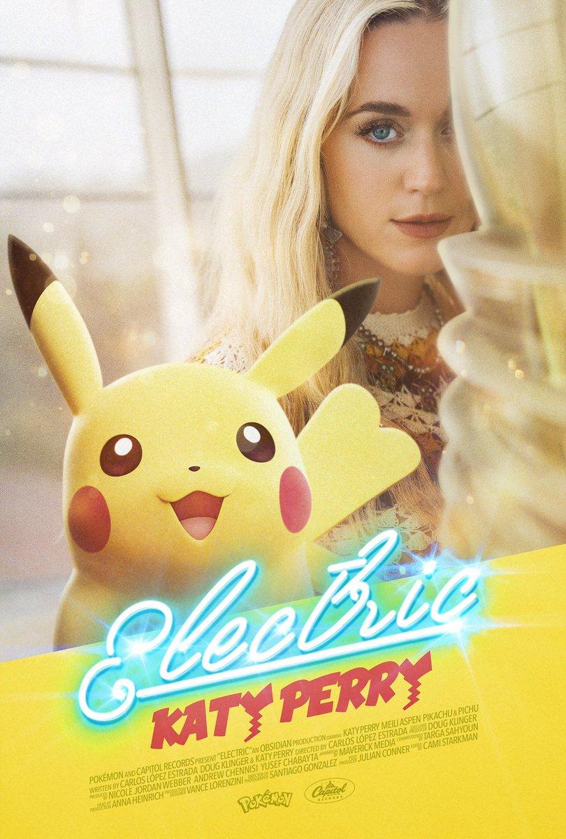 Katy Perry Electric Pikachu