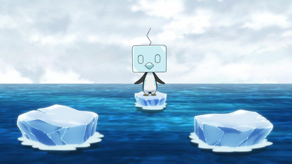 Eiscue en el hielo