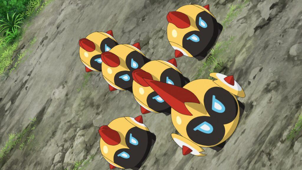 Episodio 73 Viajes Pokémon Falinks
