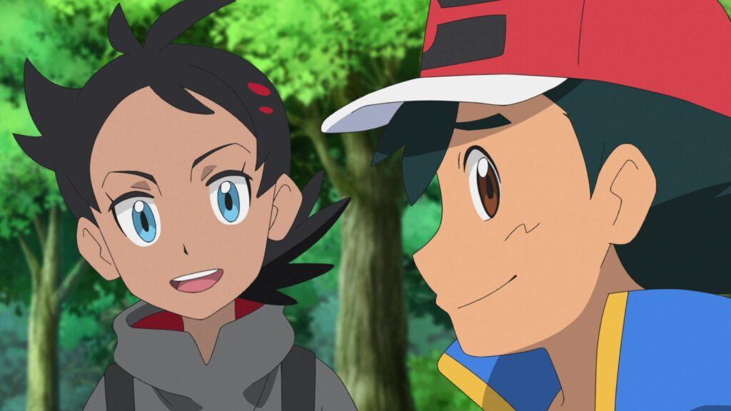 Episodio 73 Viajes Pokémon Goh y Ash