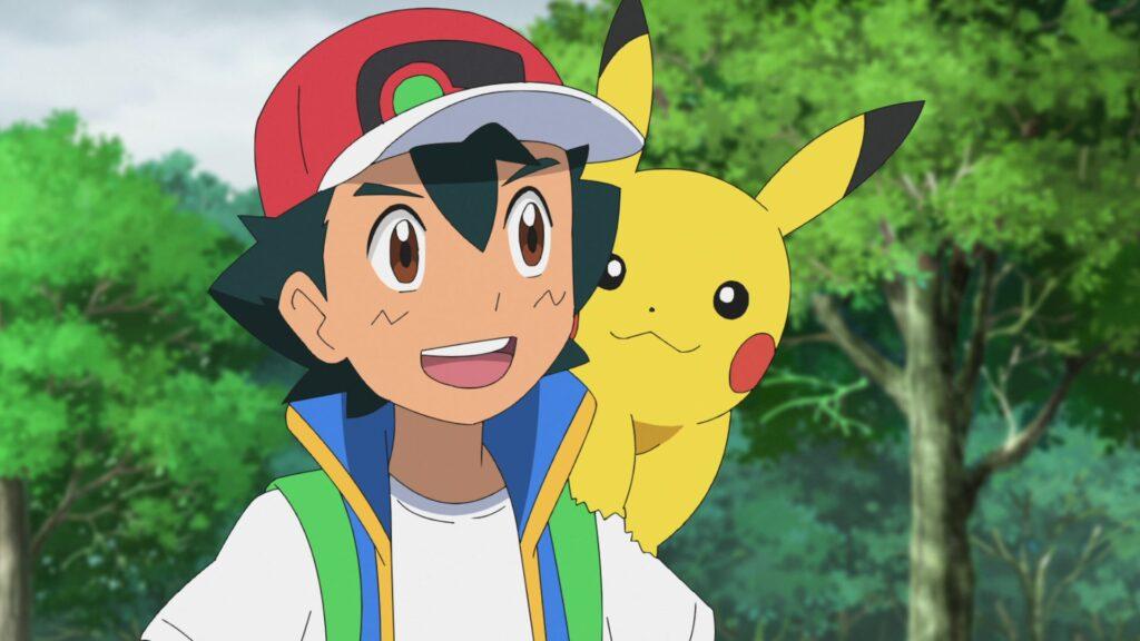 Episodio 73 Viajes Pokémon Ash y Pikachu