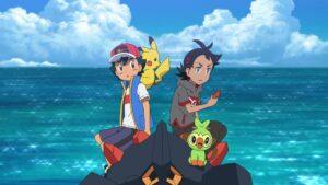 Episodio 76 Viajes Pokémon Ash, Pikachu, Goh y Grookey