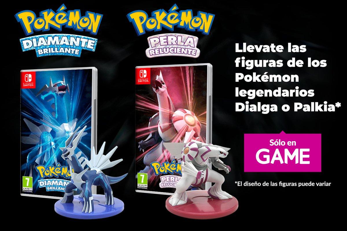Reservar Pokémon Diamante Brillante Perla Reluciente GAME