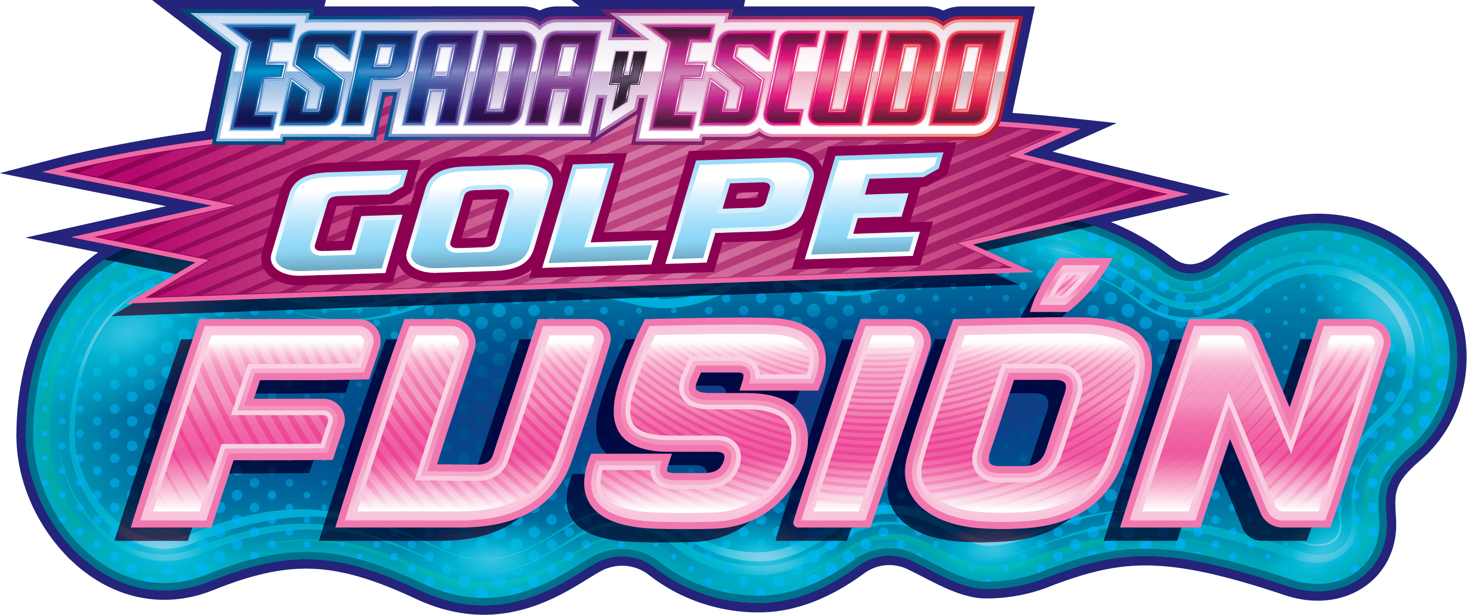 Logo de Espada y Escudo Golpe Fusión