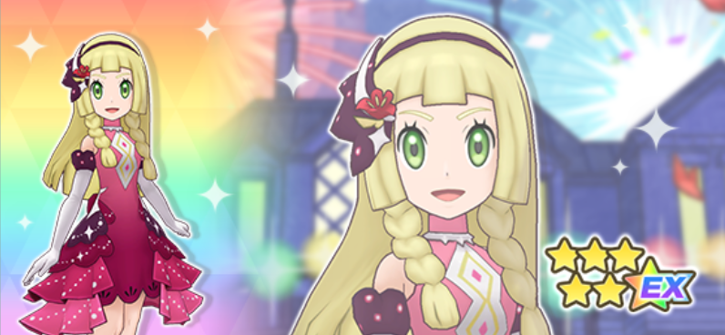 Pokémon Masters EX Lylia 6 Estrellas
