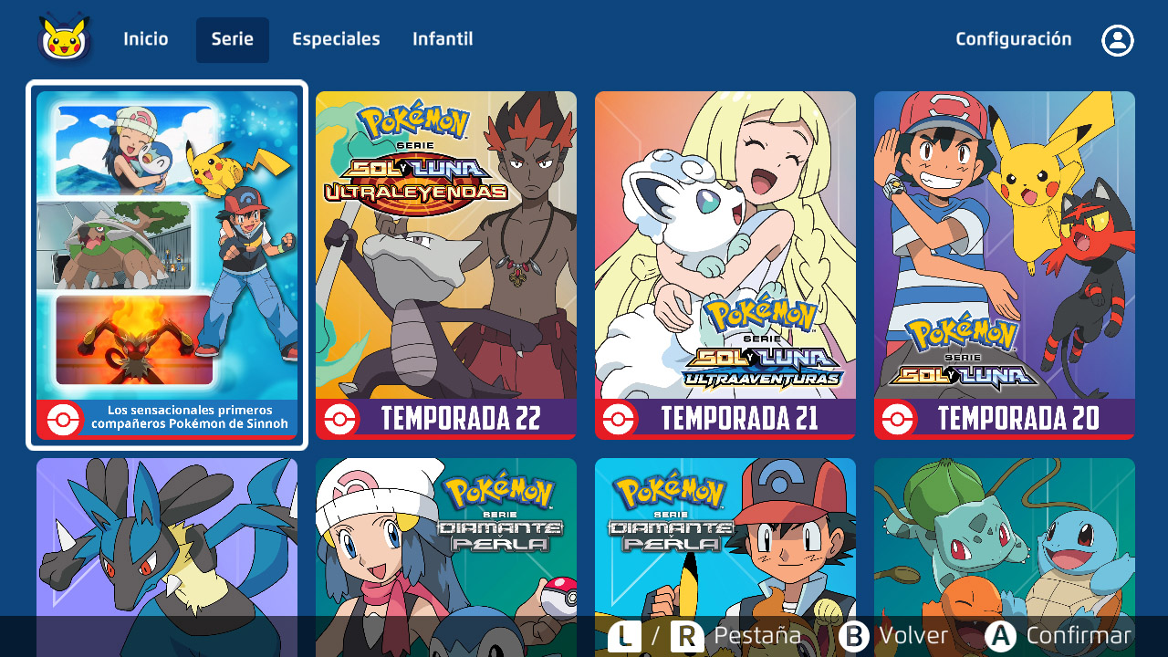 TV Pokémon Temporadas