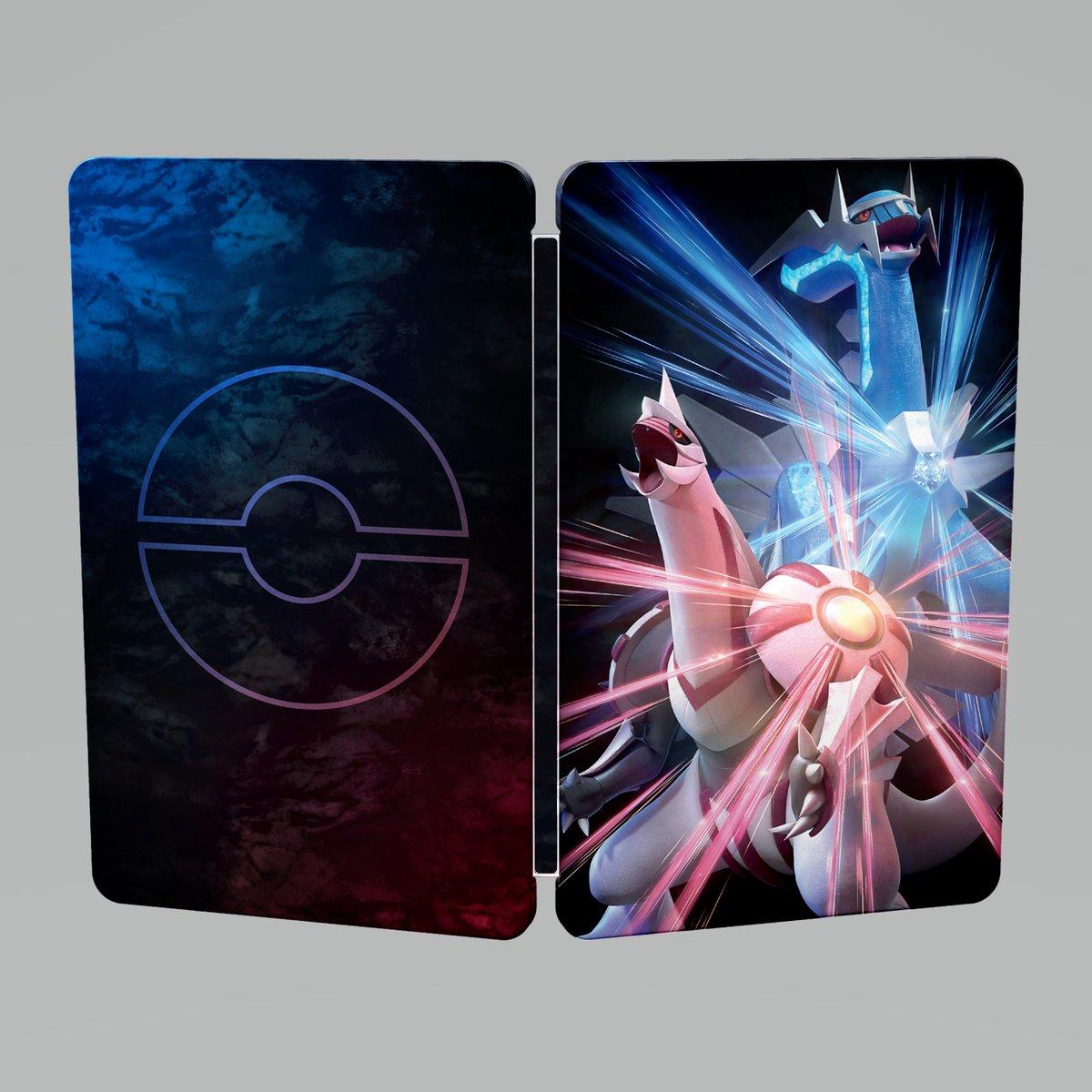 Reservar Pokémon Diamante Brillante y Perla Reluciente Steelbook