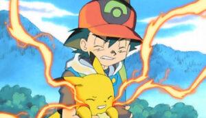 TV Pokémon Ash Pikachu