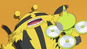 Episodio 77 Viajes Pokémon Electivire está fuera de combate