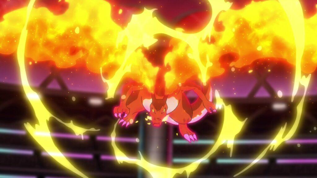 Episodio 77 Viajes Pokémon Giga-Charizard
