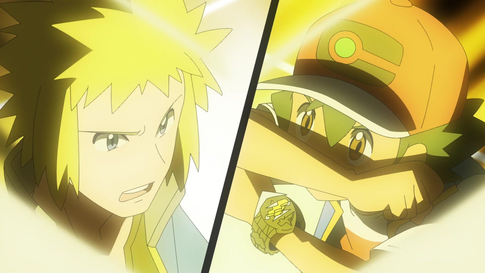 Episodio 77 Viajes Pokémon Lectro contra Ash